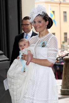 27. Mai 2016  Ein großer Tag für einen kleinen Prinzen: Heute vor drei Jahren wurde Oscar von Schweden, zweites Kind von Kronprinzessin Victoria und Prinz Daniel,in der Kapelle des Königlichen Schlosses in Stockholm getauft.