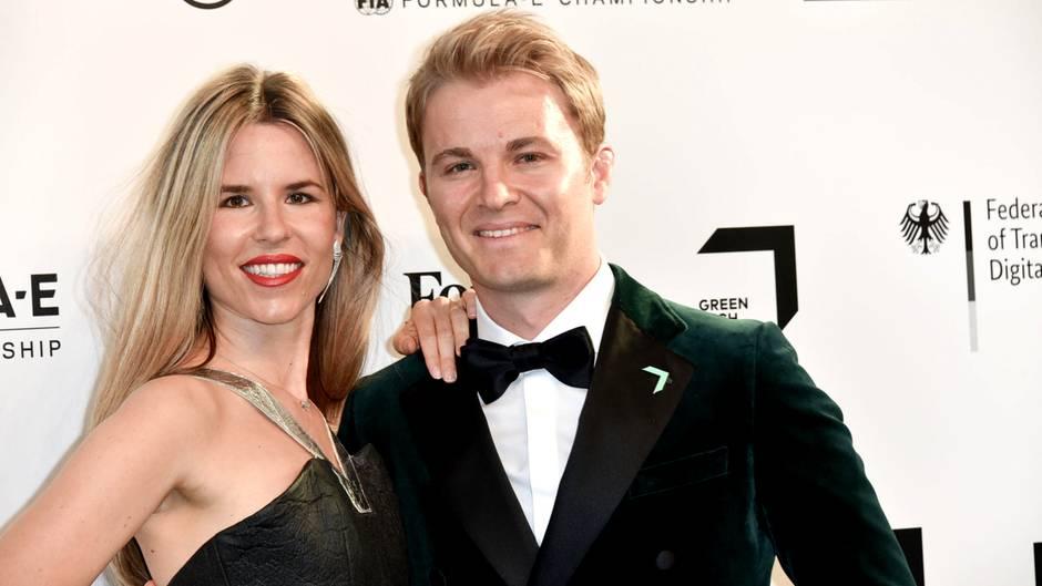 Vivian Rosberg und Nico Rosberg