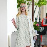 Nicht nur der ikonische Dior-Look war eine Zeitreise, sondern auch dieser Sixties-Style, den Elle in Cannes präsentierte.
