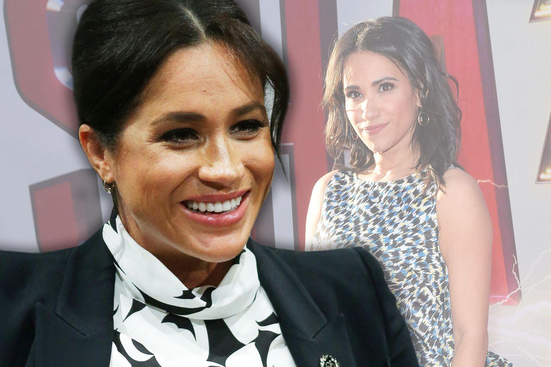 SchauspielerinTiffany Marie Smith und Herzogin Meghan könnten Zwillingsschwestern sein.