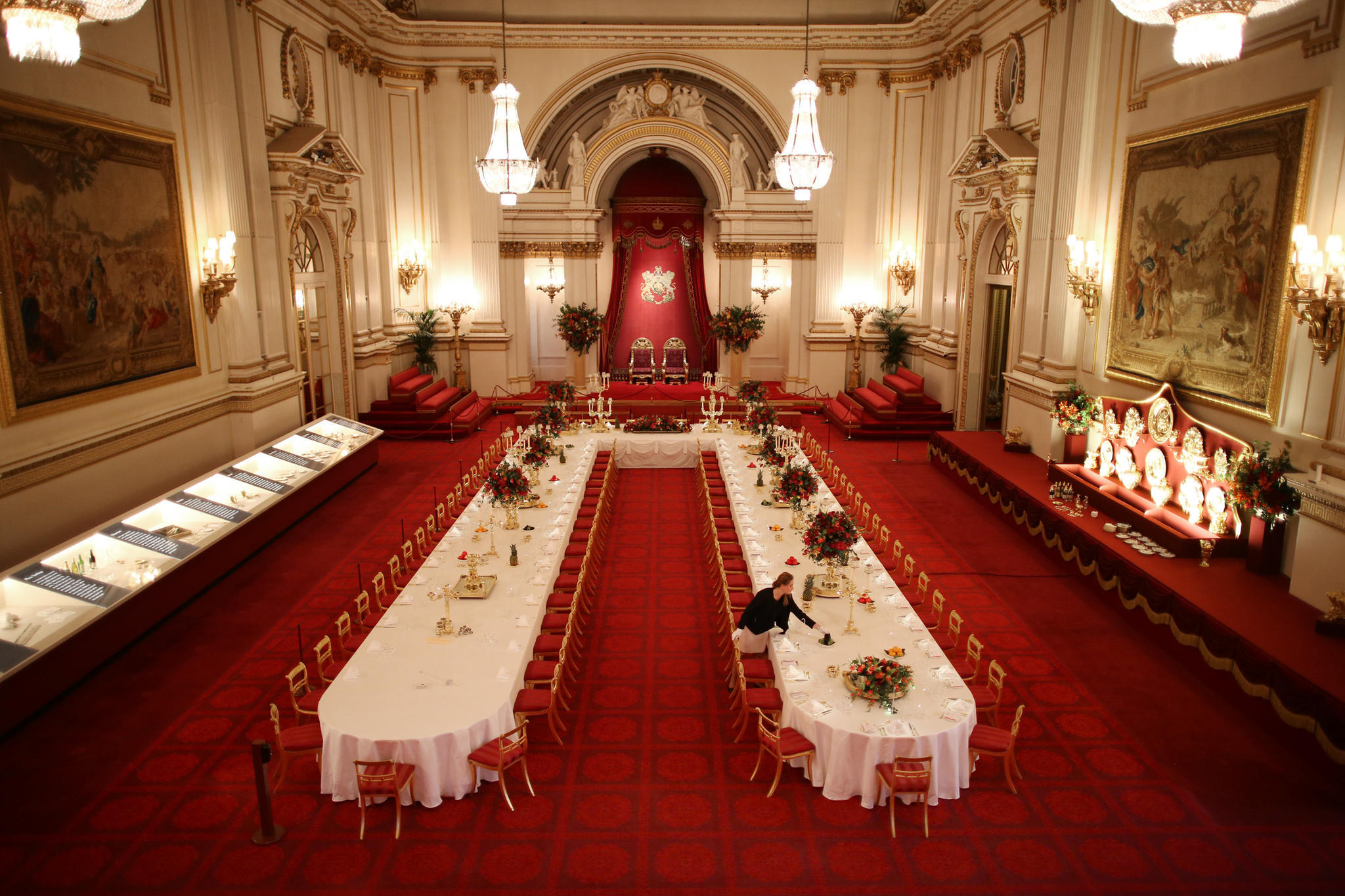Der Ball Room im Buckingham Palast