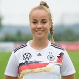 Giulia Gwinn   Position:Abwehr  Verein: SC Freiburg  Studium: Sportmanagement
