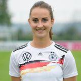 Sara Däbritz   Position:Mittelfeld/Sturm  Verein: FC Bayern München  Beruf: Studium Wirtschaftspsychologie
