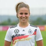 Melanie Leupolz   Position: Mittelfeld/Sturm  Verein: FC Bayern München  Beruf: Studium Wirtschaftspsychologie