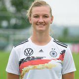 Alexandra Popp   Position:Mittelfeld/Sturm  Verein: VFL Wolfsburg  Beruf: Abgeschlossene Ausbildung zur Zootierpflegerin