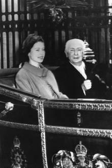 Queen Elizabeth, Theodor Heuss, Prinz Philip