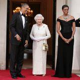 Barack Obama, Queen Elizabeth, Michelle Obama