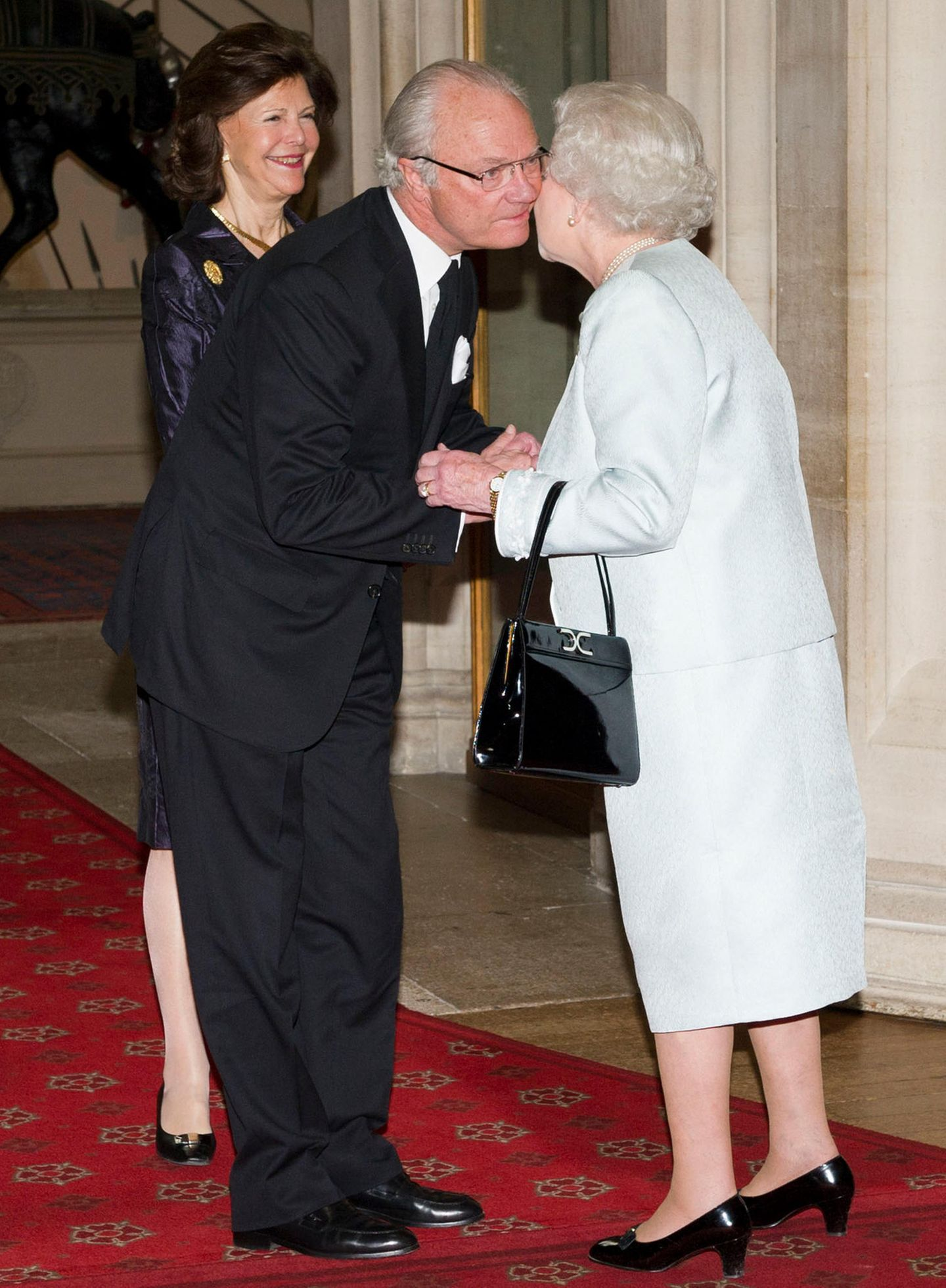 Königin Silvia, König Carl Gustaf, Queen Elizabeth