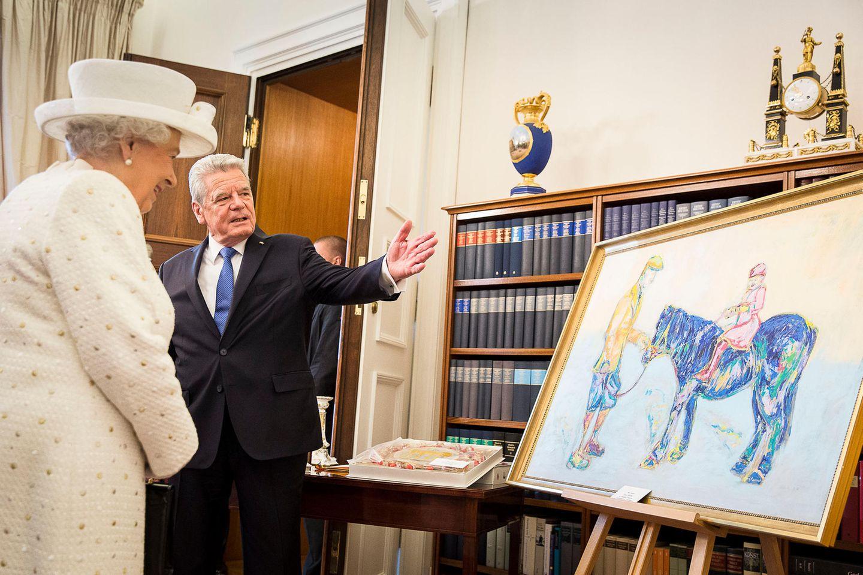 Queen Elizabeth, Joachim Gauck