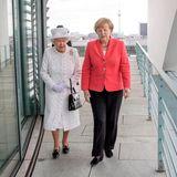 Queen Elizabeth, Angela Merkel