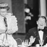 Queen Elizabeth, Ronald Reagan