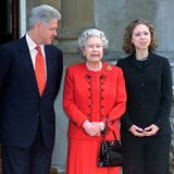 Hillary Clinton, Bill Clinton, Queen Elizabeth, Chelsea Clinton