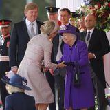 König Willem-Alexander, Königin Máxima, Queen Elizabeth
