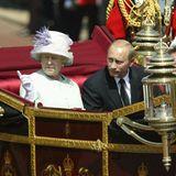 Queen Elizabeth, Wladimir Putin