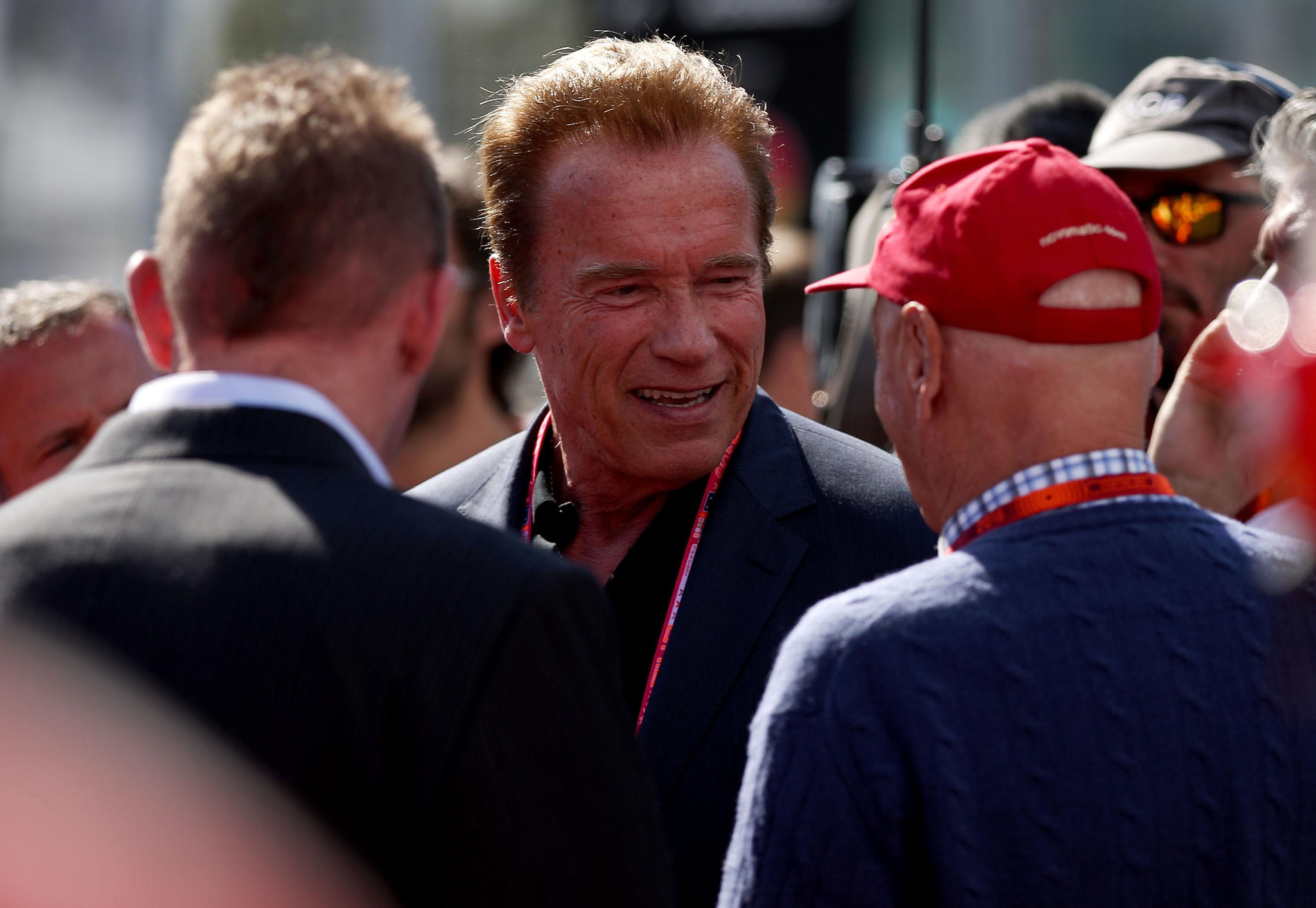 Arnold Schwarzenegger, Niki Lauda