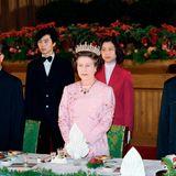 Zhao Ziyang , Queen Elizabeth, Li Xiannian