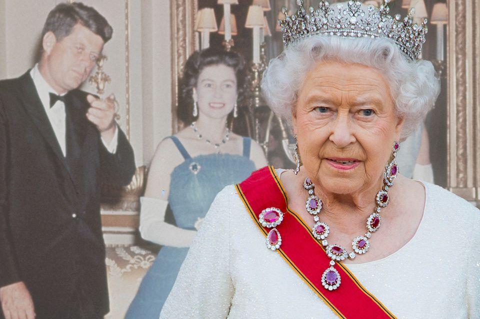Von Angela Merkel bis Wladimir Putin: Diese Staatschefs hat die Queen schon getroffen