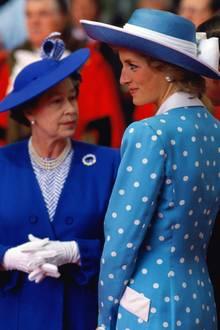 Queen Elizabeth, Prinzessin Diana