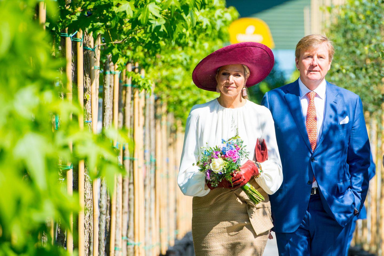 29. Mai 2019  König Willem-Alexander und Königin Máxima besuchen den Landstrich Betuwe der niederländischen Provinz Gelderland.