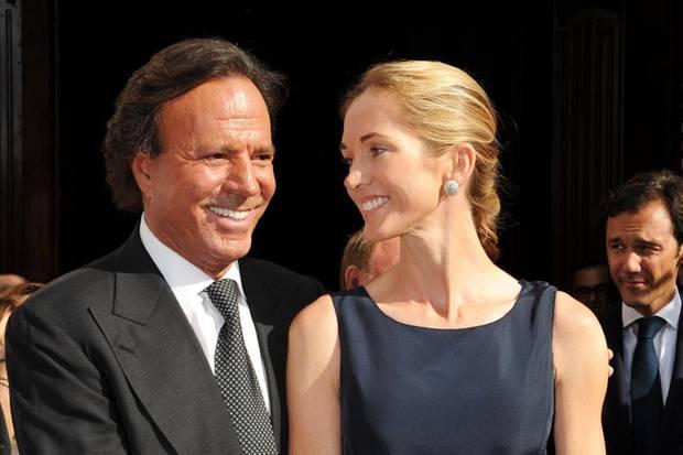 Seit dem 24. August 2010 verheiratet: Julio Iglesias und Miranda Rijnsburger
