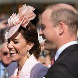 21. Mai 2019  Herzogin Catherine und Prinz William amüsieren sich wie immer prächtig.