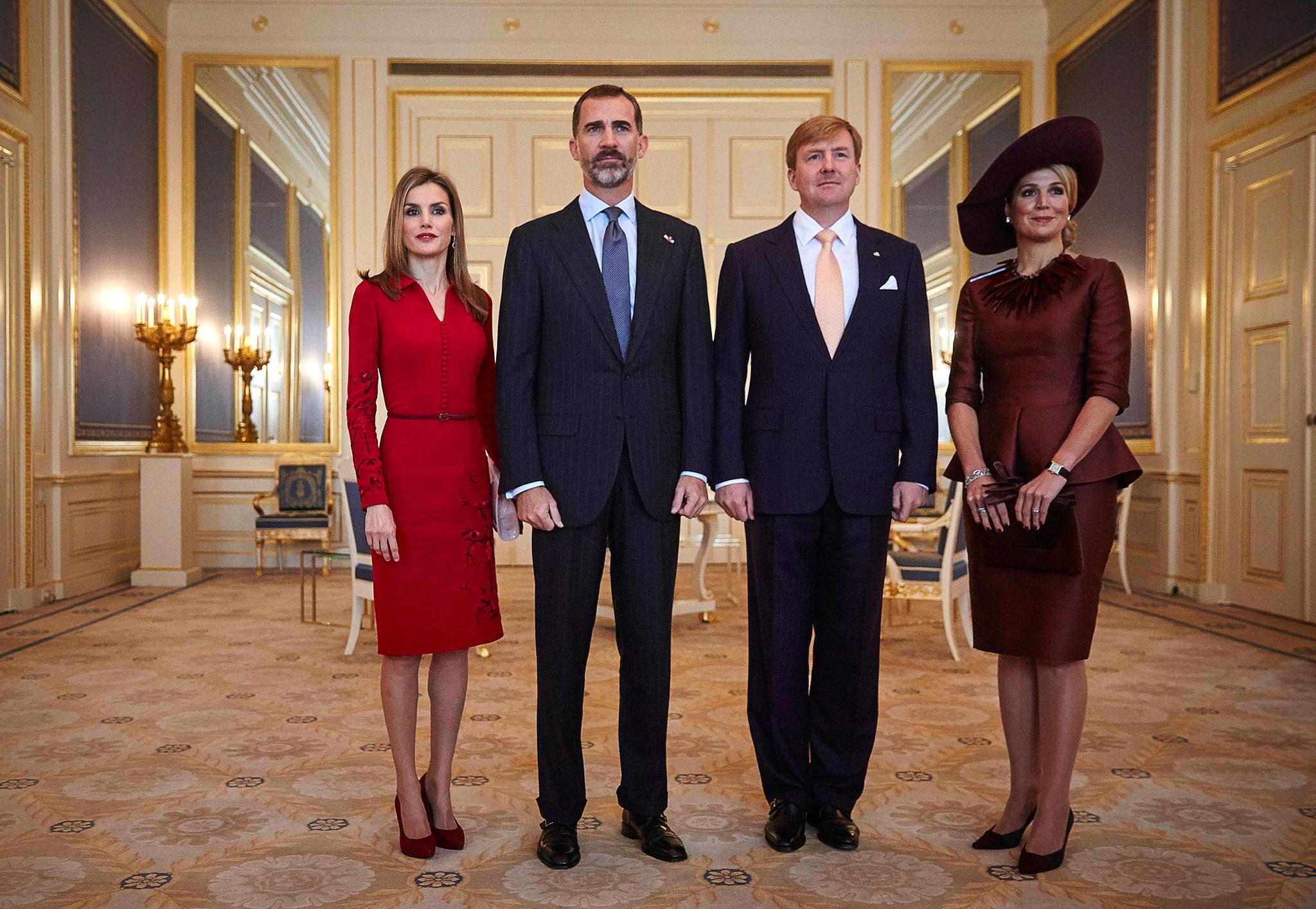Königin Letizia, König Felipe, König Willem-Alexander, Königin Maxima