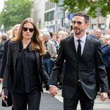 Produzent Oliver Berben und seine Frau Katrin wollen auch Abschied nehmen.