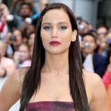 September 2012  Jennifer Lawrence legt die bisher wohl größte Veränderung hin. Sie ist mit einem Mal dunkelbrünett.