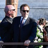Ein Hochzeitsgast direkt aus Hollywood: Arnold Schwarzenegger