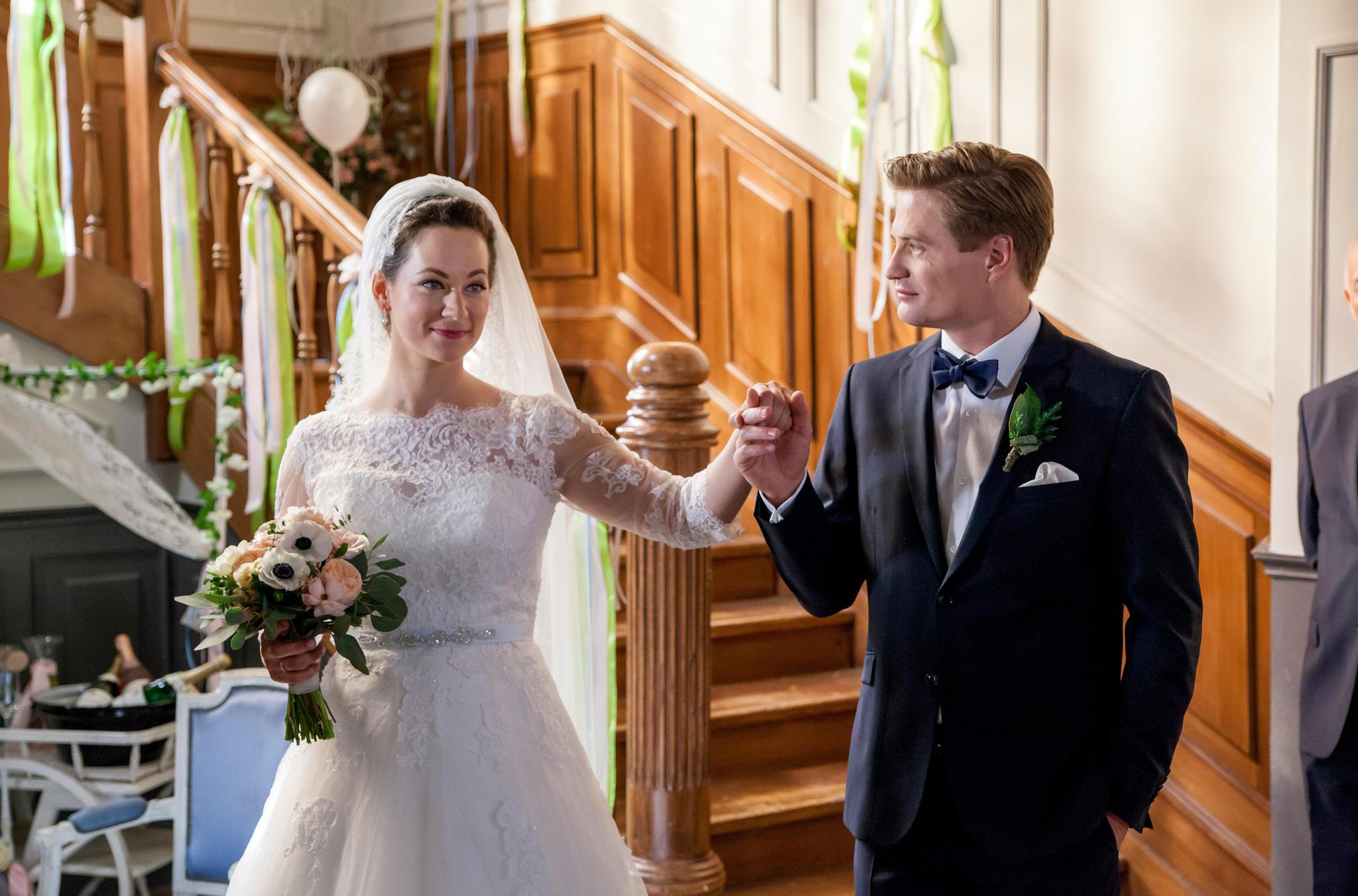 """""""Sturm der Liebe"""": Tina (Christin Balogh) heiratet Ragnar (Jeroen Engelsman)"""