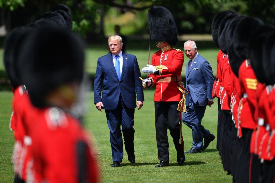 Donald Trump, Prinz Charles