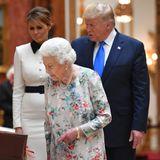 Melania Trump, Queen Elizabeth, Donald Trump