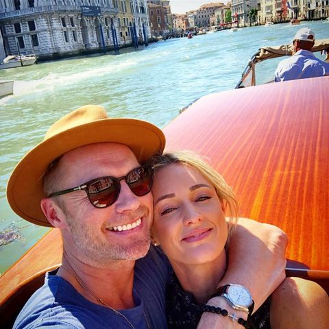 2. Juni 2019  Mit gutem Essen, Wein und einer Bootsfahrt verbringenRonan undStorm Keating ein romantisches Wochenende in Venedig.