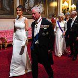 Queen Elizabeth, Donald Trump, Melania Trump, Prinz Charles