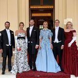 Der Trump-Clan: Donald Trump Jr., Lara Trump, Eric Trump, Ivanka Trump, Jared Kushner und Tiffany Trump