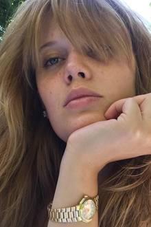 """Germany's Next Topmodel""-Finalistin Pia Riegel liebt ihren Fransenpony."