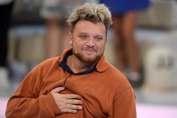 """Menowin Fröhlich am 28. August 2015 beim Finale von """"Promi Big Brother"""""""
