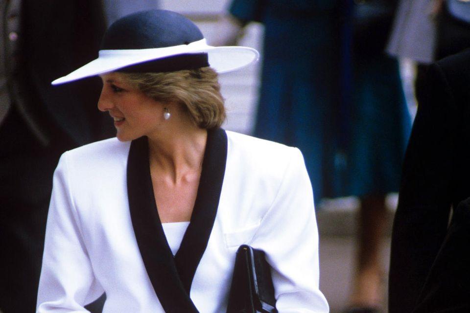 Prinzessin Diana 1985 beim Royal Ascot