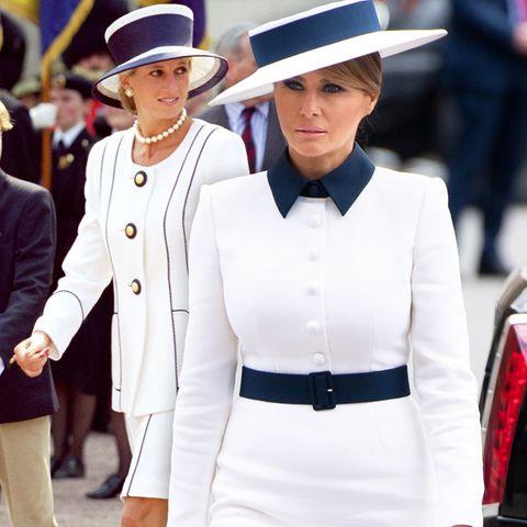 Prinzessin Diana, Melania Trump