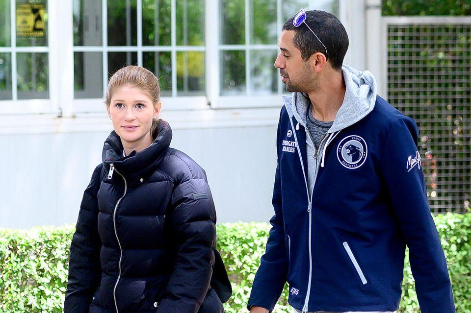 Jennifer Gates und ihr Freund Nayel Nassar nehmen gemeinsam an Reitturnieren teil.