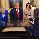 Theresa May, Donald Trump, Melania Trump, Philip May