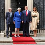 Philip May, Theresa May, Donald Trump, Melania Trump