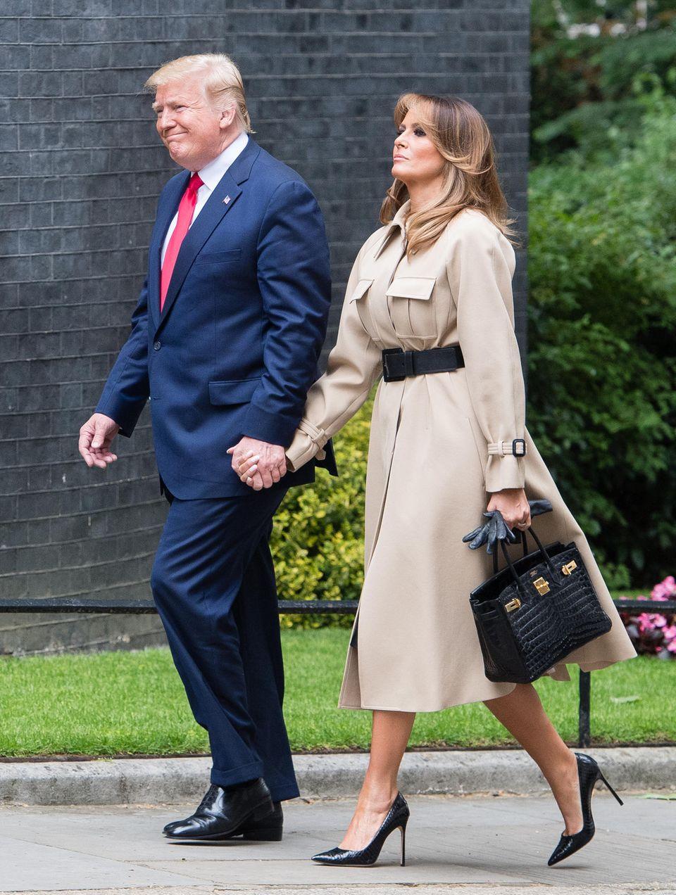 Donald Trump, Melania Tump