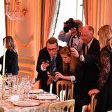 Dinner Trump Presse