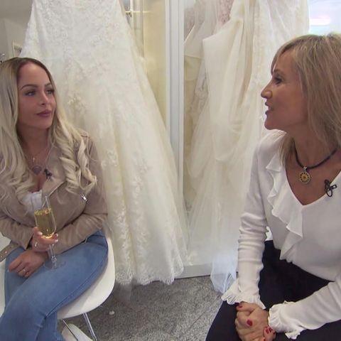 Braut Christin stellt Marie Bernal vor große Herausforderungen