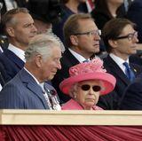 Prinz Charles, Queen Elizabeth, Donald Trump, Melania Trump
