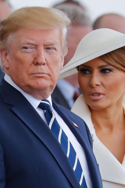 Donald Trump, Melania Trump, Prokopis Pavlopoulos, Angela Merkel