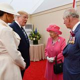 Donald Trump, Queen Elizabeth, Prinz Charles
