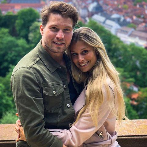 Raul Richter und seine Freundin Vanessa Schmitt.