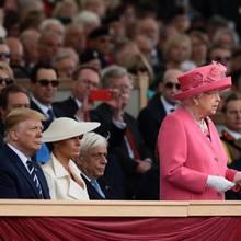 Donald Trump, Melania Trump, Queen Elizabeth,
